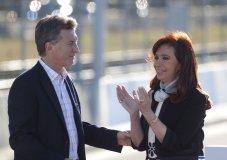 Mauricio Macri y Cristina Kirchner