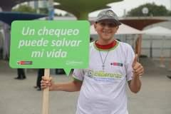 Campaña contra el cáncer
