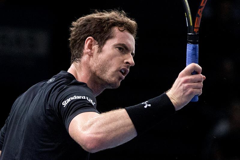 Con algunos altibajos, Murray se impuso a Ferrer.