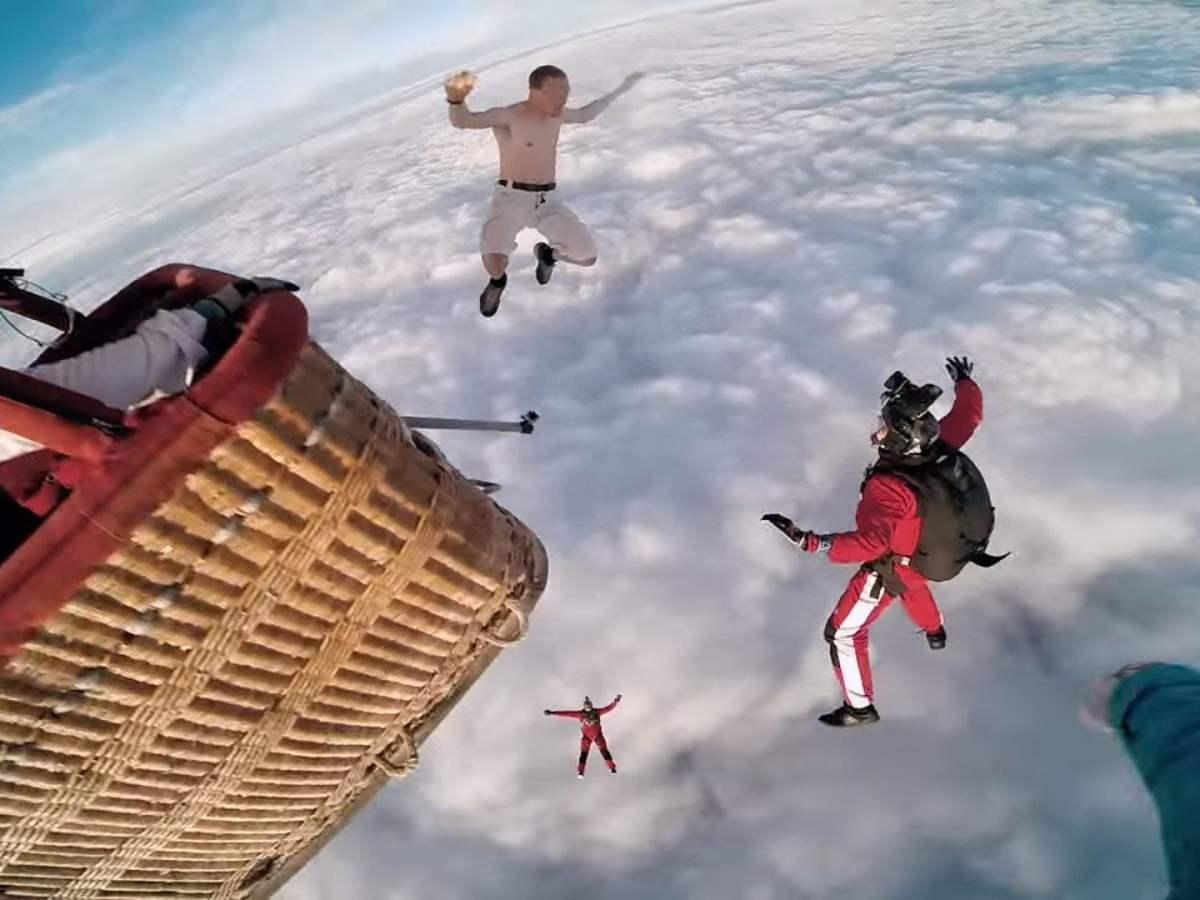 Atrevido y desafiante, un video colgado en YouTube muestra una hazaña más de Antti Pendikainen