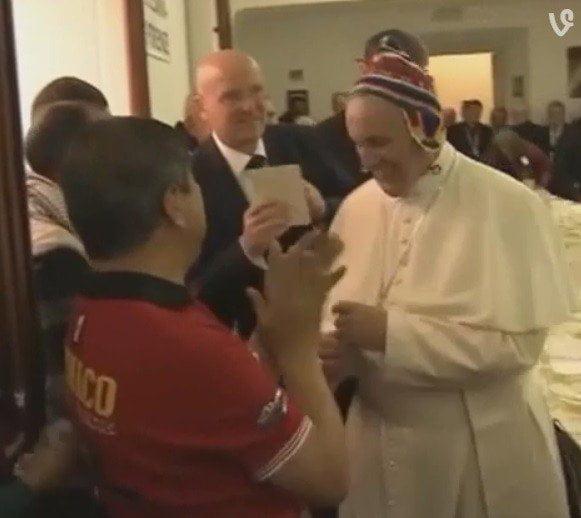 Un regalo del Perú para el papa Francisco