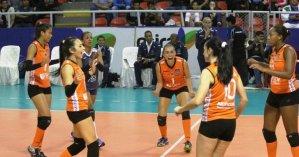 Vallejo superó casi sin complicaciones al Circolo en el inicio del campeonato nacional de voleibol de mayores.