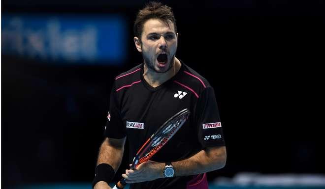 Wawrinka avanzó a semifinales de Maestros en igual número de torneos disputados.