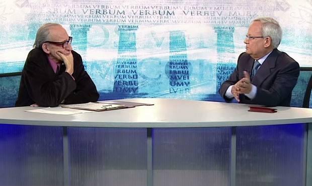César Hildebrandt y Marco Aurelio Denegri