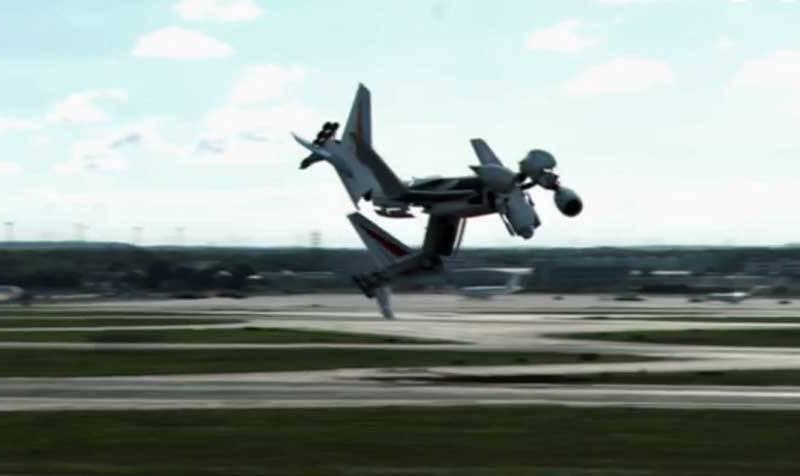 De avión a un transformer
