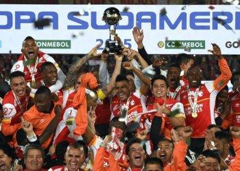 El Independiente Santa Fe de Bogotá se convirtió en el primer equipo colombiano en ganar la Copa Sudamericana.