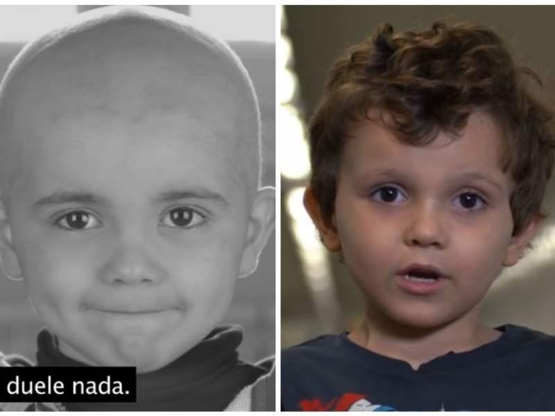 Daniel, el niño con leucemia que impactó al mundo está curado