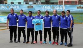 Mariano Soso fue presentado por Cristal junto a su comando técnico.