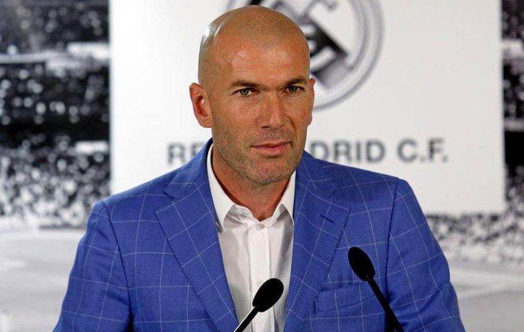 Zinedine Zidane asumió el cargo de entrenador principal del Real Madrid.