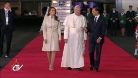 EN VIVO: El Papa Francisco llega entre aplausos a México