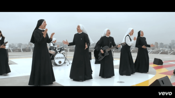 YouTube: Las monjas rockeras que cantarán al Papa Francisco