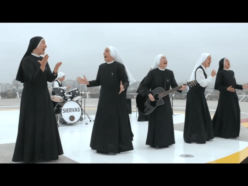 YouTube: Las monjas rockeras que cantarán al Papa Francisco
