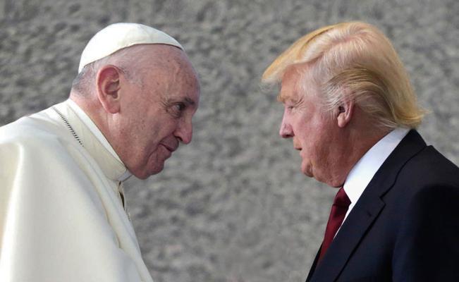 Donald Trump ahora ataca al Papa Francisco noticia