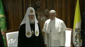 EN VIVO: Papa Francisco se reúne con Patriarca de Moscú