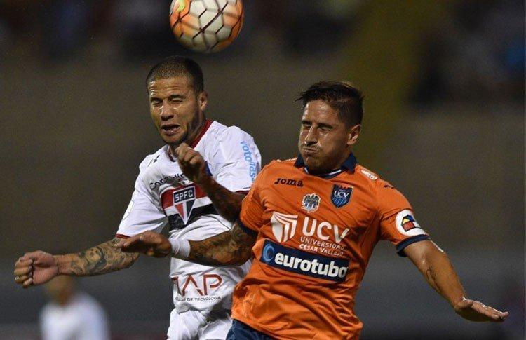 UCV no pudo con el Sao Paulo en Trujillo.