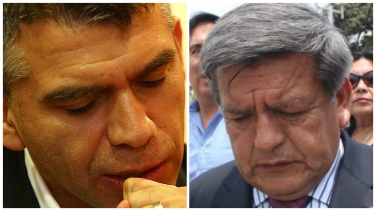 Julio Guzmán y César Acuña