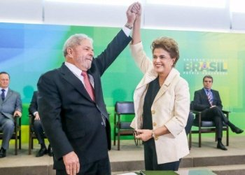 Lula y Dilma (Foto OGlobo)