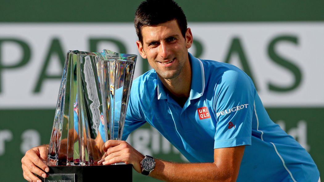 Novak Djokovic impuso su favoritismo para ganar otra vez el Torneo de Indian Wells.