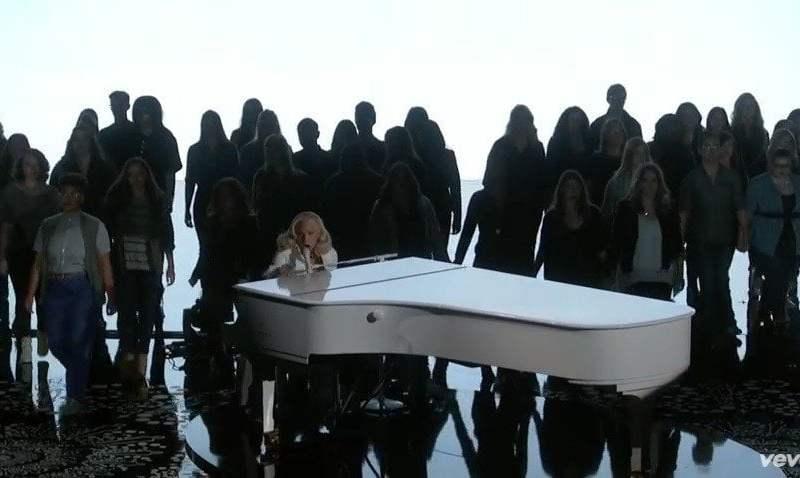 Lady Gaga en premios OSCAR