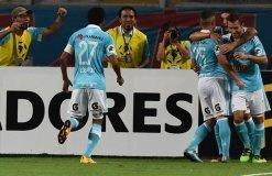 Sporting Cristal obtuvo su primera victoria en la Copa Libertadores.