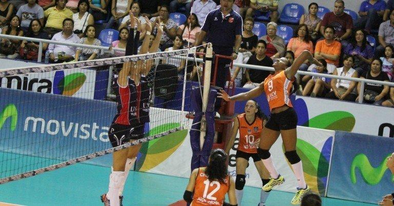 La U. César Vallejo derrotó al vigente campeón del vóley peruano en tres sets.