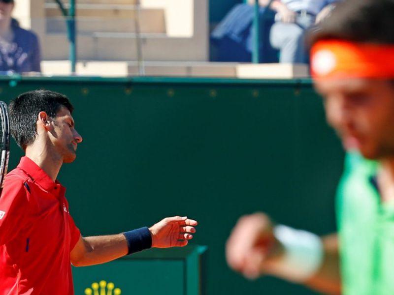 Djokovic perdió sorpresivamente en el Masters 1000 de Monte Carlo.