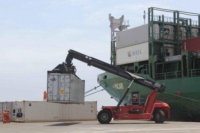 Las exportaciones regionales se contrajeron durante los dos primeros meses del presente año.