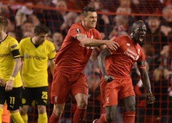 Gran remontada y clasificación del Liverpool sobre el Dortmund.