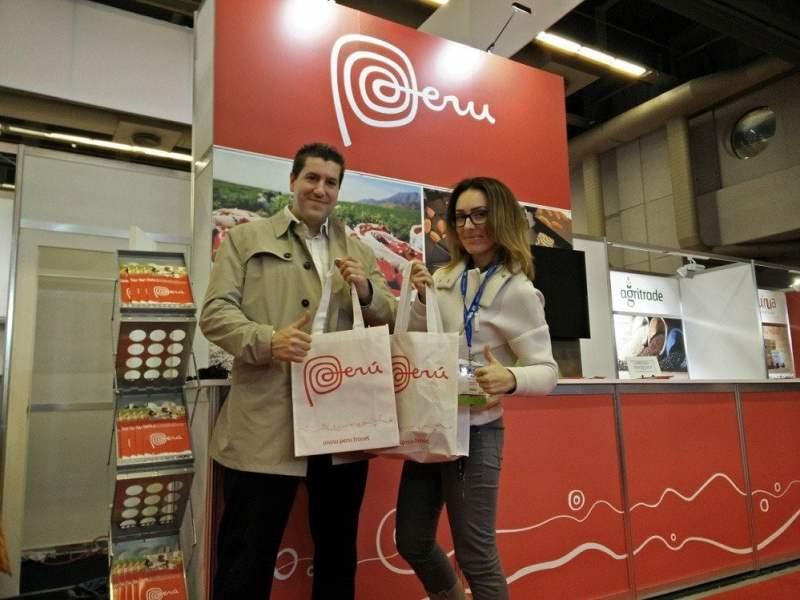 Peruanos mostraron en Canadá una gran oferta exportable de alimentos.