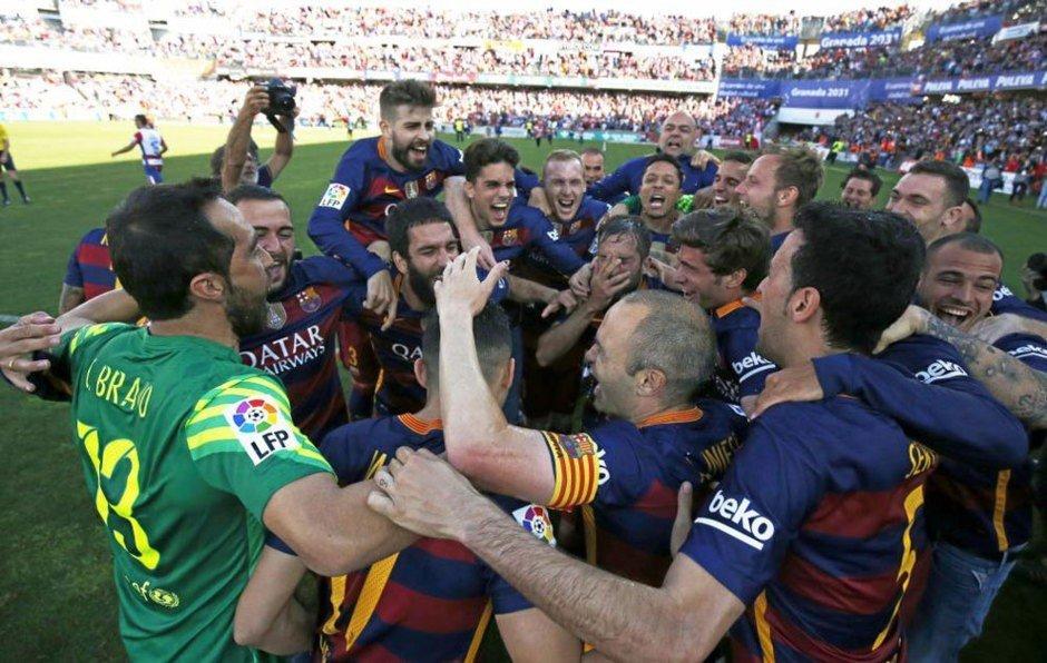 Barcelona ganó su Liga española número 24.
