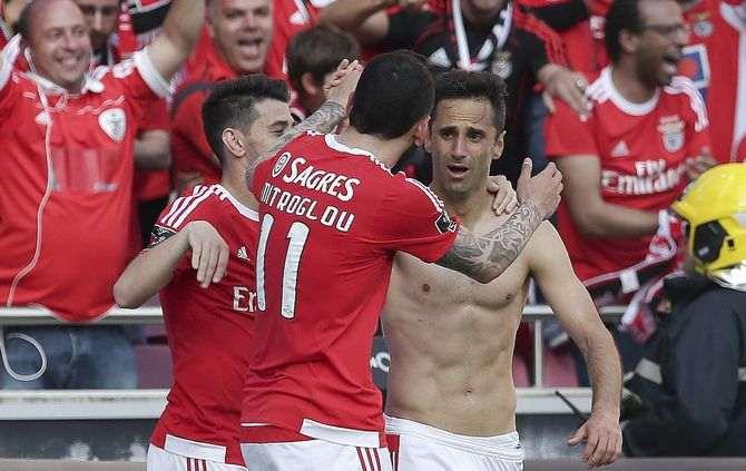 Benfica revalidó su título y de paso aumentó su supremacía en el fútbol portugués.