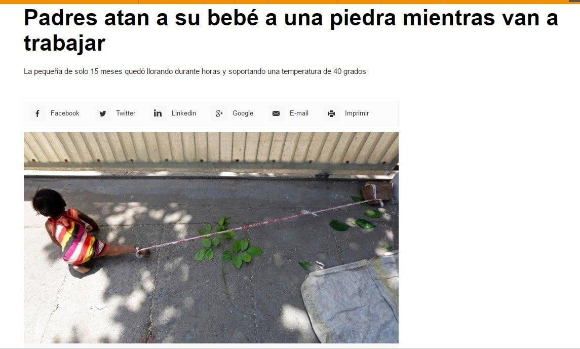 Noticia de Infobae