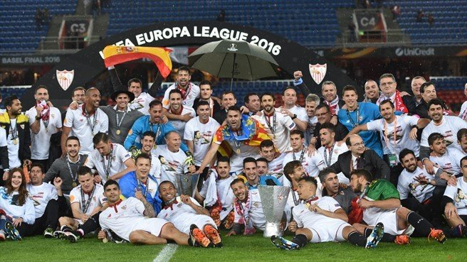 Sevilla de España ganó la quinta Europa League de su historia, la tercera de forma consecutiva.