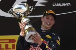 Max Verstappen  hizo historia al ganar en España.