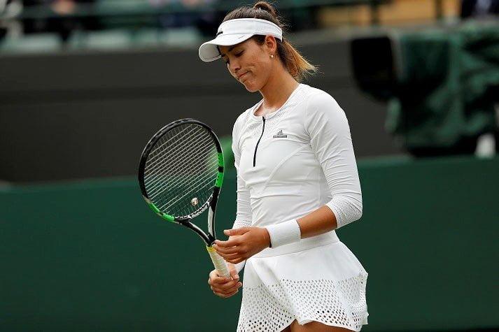 La eliminación de Muguruza fue la primera gran sorpresa de Wimbledon.