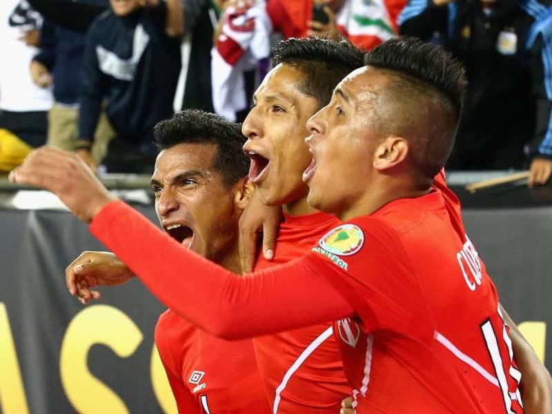 Perú hizo historia al eliminar a Brasil de la Copa América Centenario.