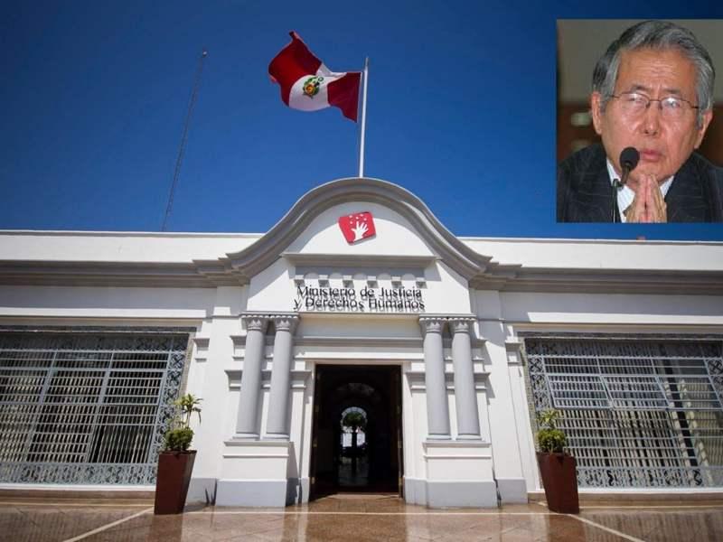 Minjus se pronuncia sobre pedido de indulto de Alberto Fujimori