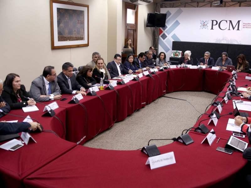 Se instaló comisión de transferencia entre gobiernos de Humala y PPK