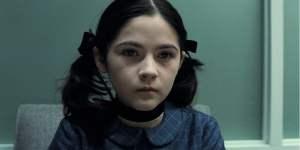 """Isabelle Fuhrman cuando protagonizó a """"La Huérfana"""""""
