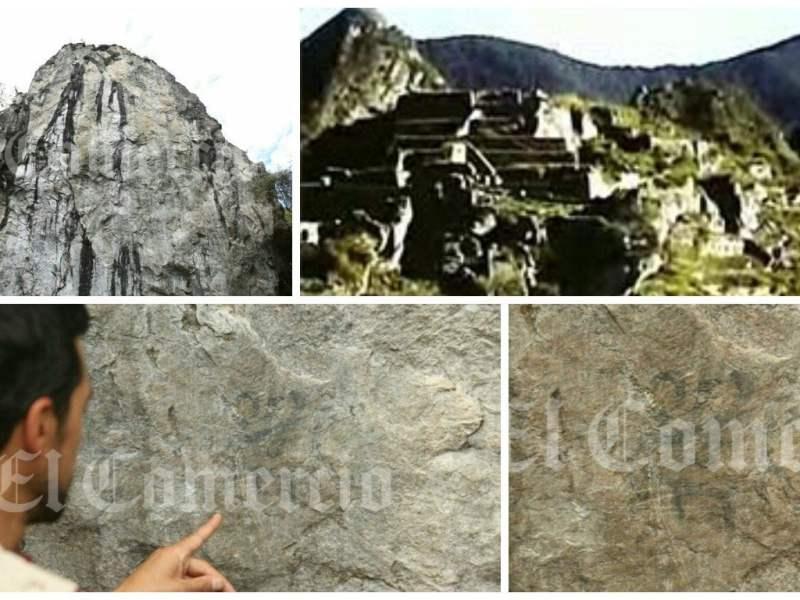 Machu Picchu: pinturas rupestres y un video antiguo de la ciudadela (Foto El Comercio)