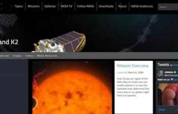 Polémicas fotos en la web de la NASA