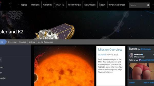Polémicas fotos en la web de la NASA