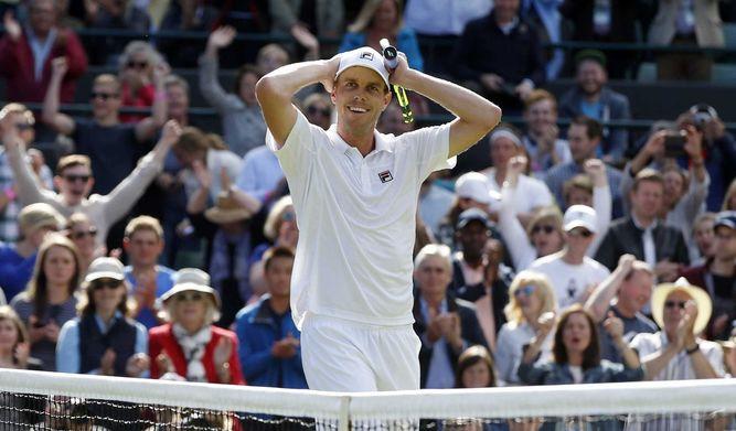 Querrey dio el batacazo tras eliminar a Djokovic.