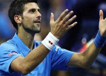 Djokovic inició su defensa del título del US Open con una buena victoria.