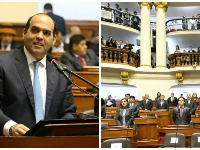 Fernando Zavala en el Congreso de la República
