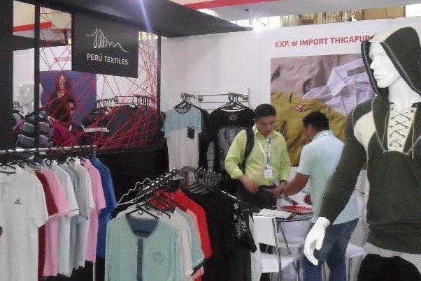 Exportadores peruanos del sector textil confecciones participaron en importante feria de moda colombiana.