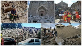 Terremoto de 6.0 grados sacude Italia y se siente fuerte en Roma