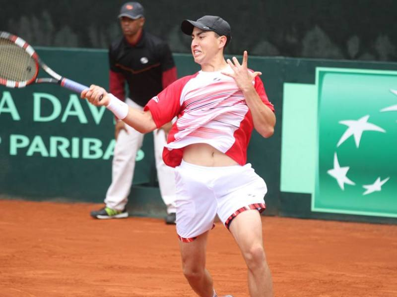 Nicolás Álvarez se encuentra a tres games de sentenciar la final del Grupo II a favor de Perú