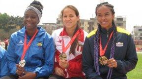 Diana Bazalar ganó medalla de oro con record nacional y sudamericano Sub 23 incluido.