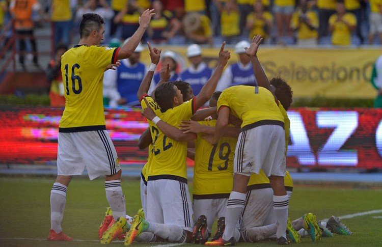 Los colombianos consiguieron una importante victoria por las clasificatorias Rusia 2018